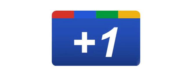 Google plus 1 nouveau desing