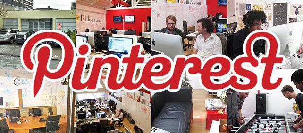 Visite des bureaux de Pinterest